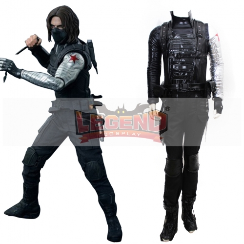 Captain America The Winter Soldier James Buchanan Barnes Bucky Outfit