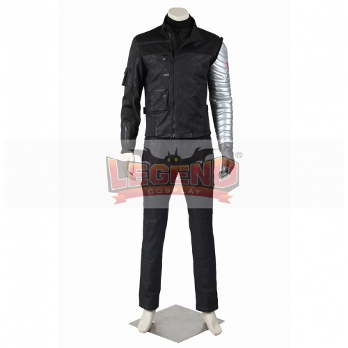 Captain America The Winter Soldier James Buchanan Barnes Bucky Outfit V03
