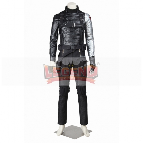 Captain America The Winter Soldier James Buchanan Barnes Bucky Outfit V02