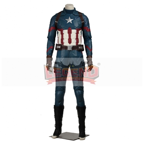 Captain America: Civil War Costume Adult Mens Captain America Costume
