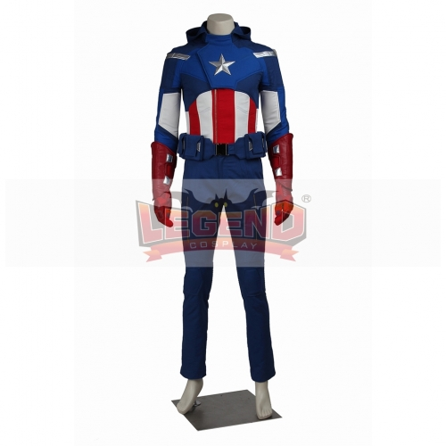 The Avengers Captain America Steve Rogers Costume