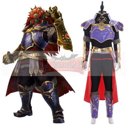The Legend of Zelda Ganon adult cospaly Costume outfit full set