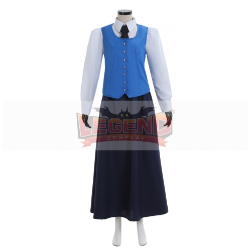 Doctor who Jenny Flint cosplay costume Lady Costume Outfit