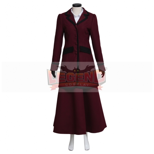 Doctor Who 8th Season Missy Mistress Cosplay Costume