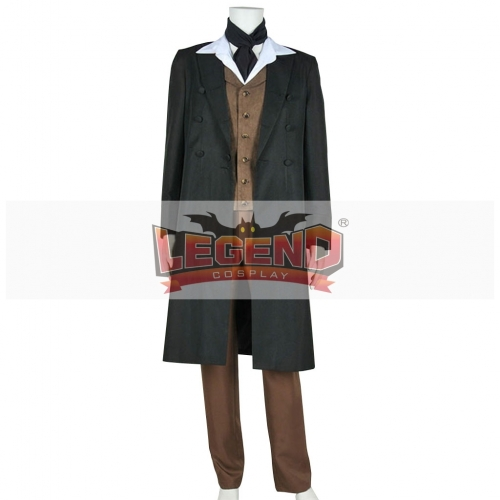 Doctor Who 8th Dr Paul McGann Cosplay Costume Full Set