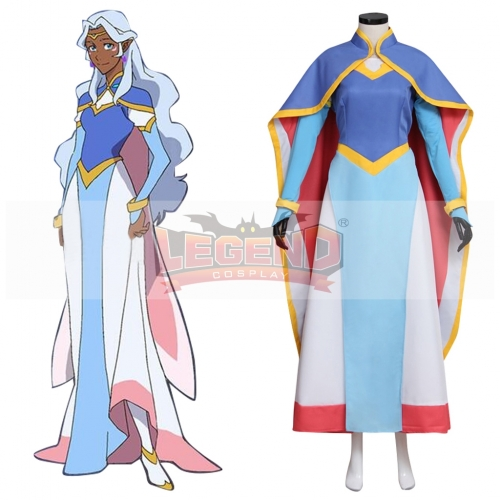 Voltron: Legendary Defender Princess Allura Cosplay Costume Dress All Size