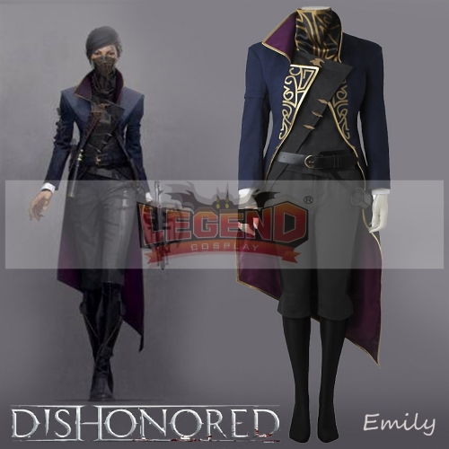 Dishonored 2 Emily Drexel Lela Kaldwin Cosplay adult costume Custom Made full set