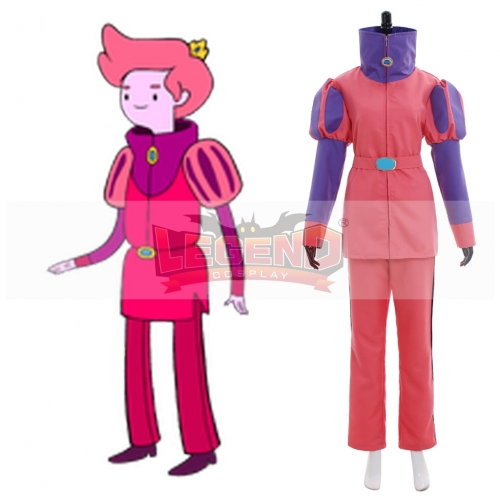 Adventure Time Prince Gumball costume cosplay suit