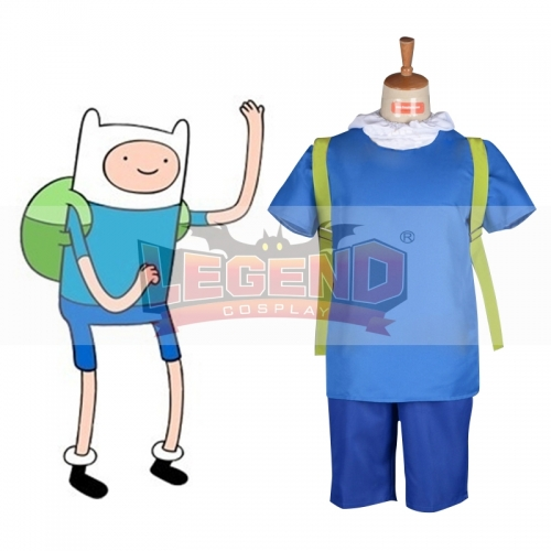 Adventure Time Finn the Human Cosplay costume