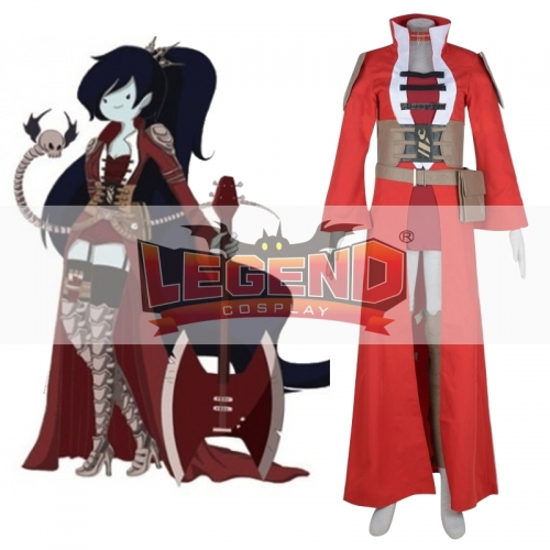 Adventure Time Marceline Cosplay dress costume