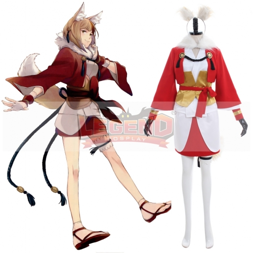 Fire Emblem Fates IF Selkie Kinu Cosplay Costume outfit