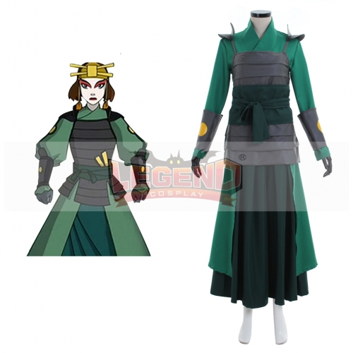 Avatar The Last Airbender Kyoshi Warriorsm Cosplay Costume
