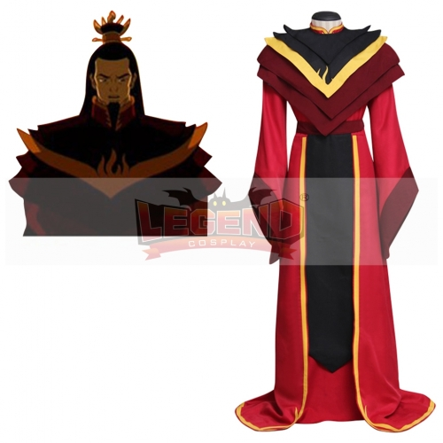 Avatar: The Legend of Aang The Last Airbender Fire Lord Ozai Cosplay Costume