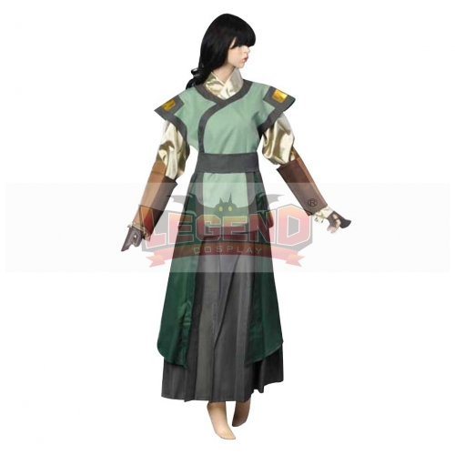 (without wig)Avatar The Last Airbender Avatar Kyoshi Cosplay Costume