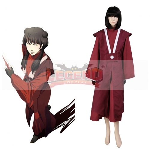 (without wig)Avatar The Last Airbender Mai Cosplay Costume