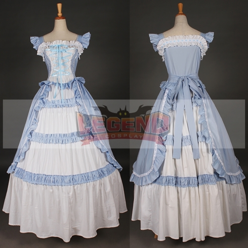 Cotton Bow Classic Lolita Dress cosplay costume dress