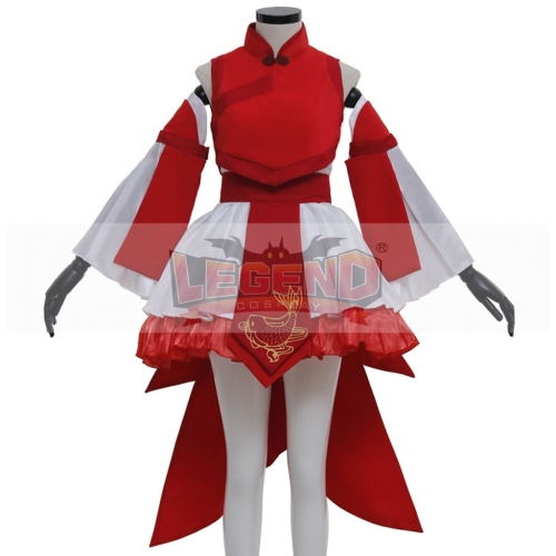 Classic Lolita Dress Lolita  costume women dress red and white color
