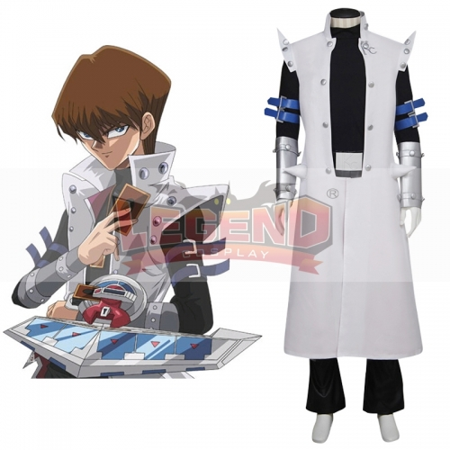 Yu-Gi-Oh! Duel Monsters GX Seto Kaiba Cosplay Costume outfit custom made adult costume