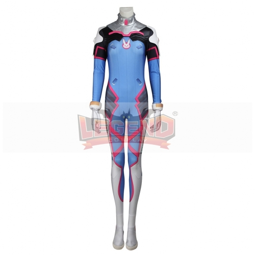 Overwatch OW D.Va DVa Hana Song Costume full set Halloween Cosplay Costume
