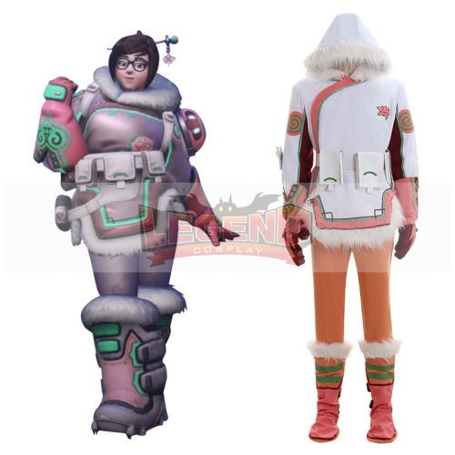 Overwatch OW Mei Costume full set Halloween Cosplay Costume