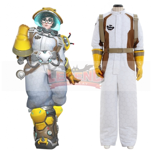 Overwatch OW 2017 Anniversary skins Beekeeper Mei  Costume full set Halloween Cosplay Costume