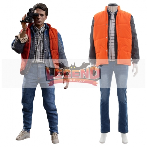 Back To The Future Marty McFly Costume cosplay costume