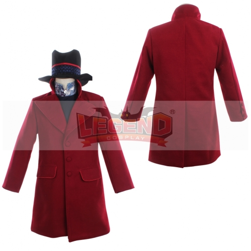 Willy Wonka Charlie and the Chocolate cosplay costume Factory Johnny Depp cosplay