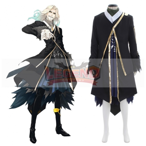 Fate Apocrypha Lancer Black Vlad III Multicolor Cosplay Costume