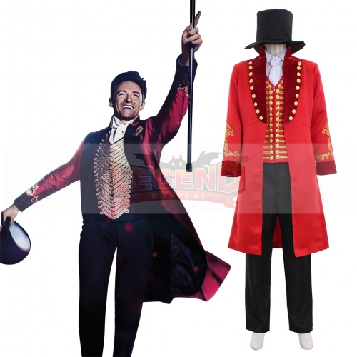 The Greatest Showman P. T. Barnum Christmas party costume gift circus cosplay costume
