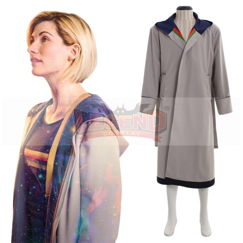 13th female Doctor who Cosplay Costume Coat 13th Doctor Jodie Cosplay Costume Jacket