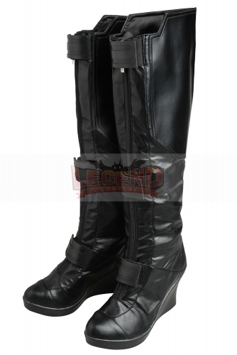 Avengers Infinity War black widow costume black widow cosplay shoes boots