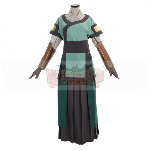 Avatar The Last Airbender Avatar Kyoshi Cosplay Costume custom made