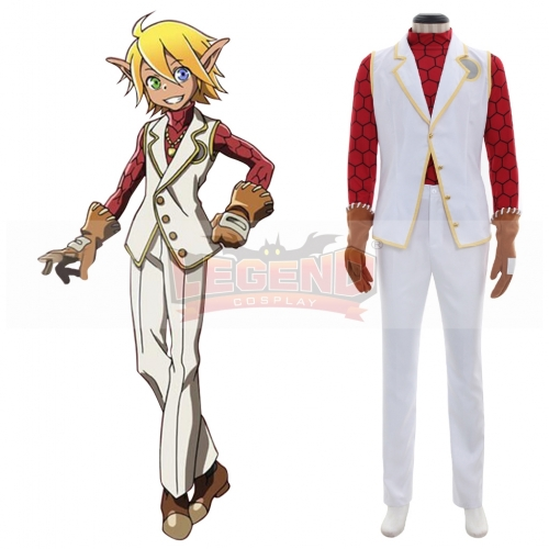 OVERLORD aura bella fiora Cosplay Costume male Cosplay