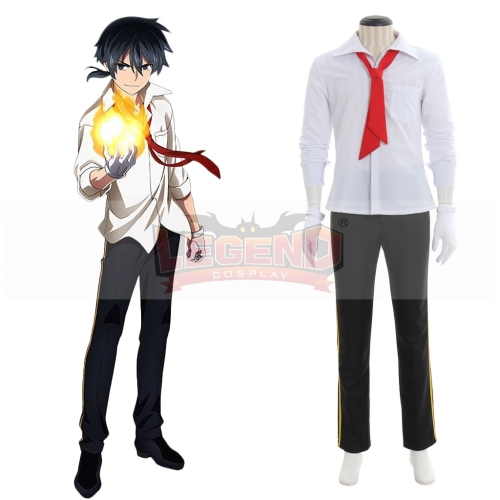 Akashic Records of Bastard Magic Instructor Rokudenashi Majutsu Koushi to Akashic Records Glenn Radars Cosplay Costume