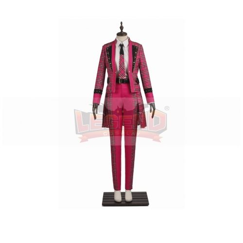 Hey! Say! JUMP JUMPing CAR Chinen Yūri  Cosplay  Costume Adult Mei Red Outsuit