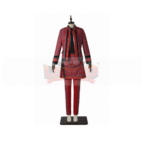 Hey! Say! JUMP JUMPing CAR Ryosuke Yamada Cosplay Costume Adult Red Outsuit