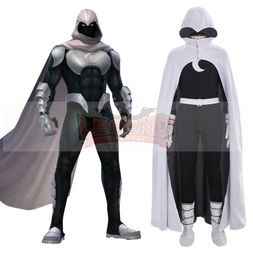 Comics Moon Knight Cosplay Costume For Adult Men Halloween Party Custom Made