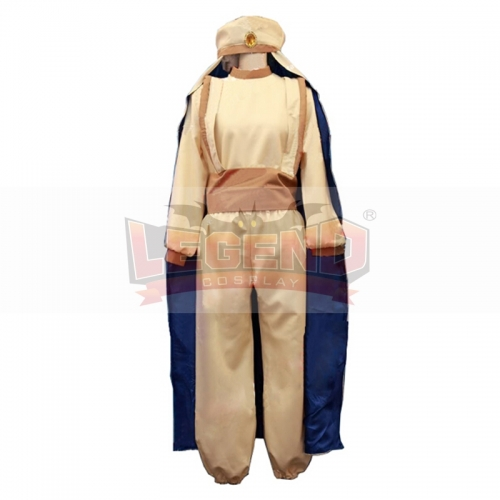 Aladdin Cosplay Costume Prince Ali Costume Full Outfit Custom Made