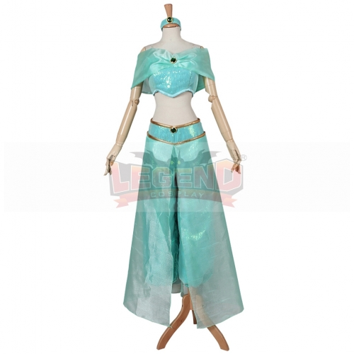 Aladdin Cosplay Princess Jasmine Fancy Dress Jasmine cosplay costume For Halloween Party