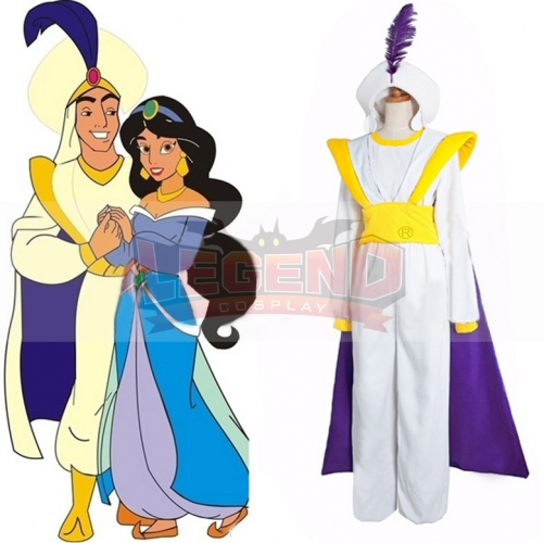 The hot movie Aladdin Lamp Costume Prince Aladdin costume for adult man