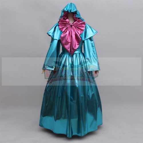 Cinderella Fairy Godmother Cosplay Costume Gown Dress For Party Ball Custom Made