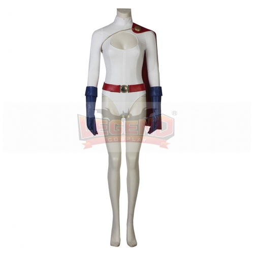Power Girl Kara Zor-EL Cosplay Costume For Young Girl Custom Made With Cape
