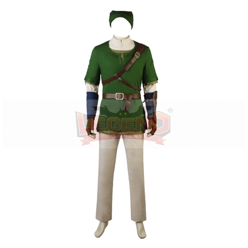 The Legend of Zelda Twilight Princess Link Cosplay Costume For Adult Halloween Custom Made