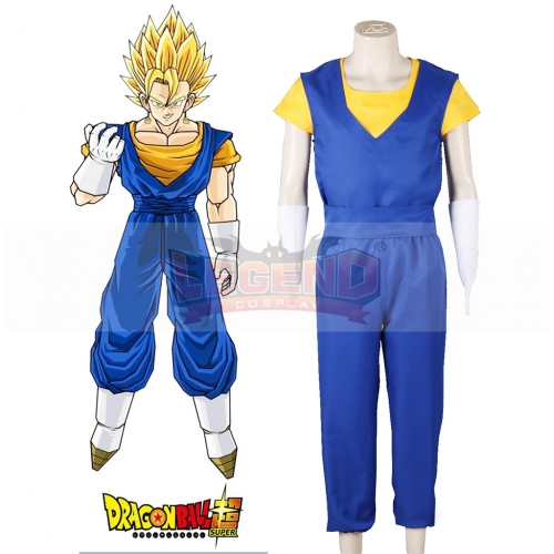 Dragon Ball Super Son Goku and Vegeta Vegetto Fighting Uniform Cosplay Costume