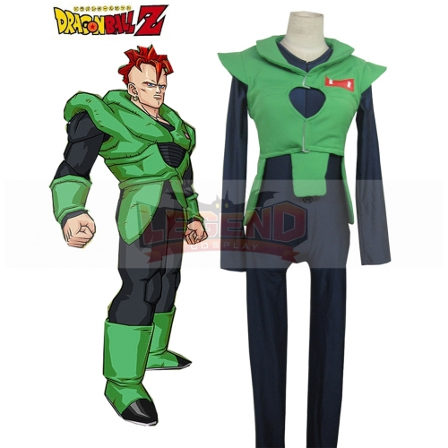 Dragon ball Android 16 Cosplay Costume For Adult Custom Made
