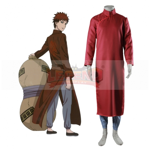 Naruto in China Sabaku no Gaara Cheongsam Dress Anime Cosplay Costume
