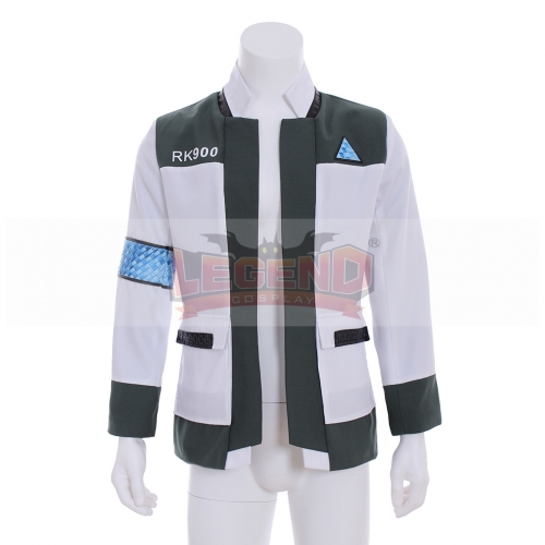 Detroit Become Human Connor Android RK900 Agent Suit Uniform Cosplay Costume