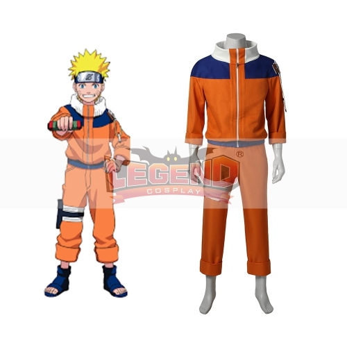Cosplaylegend Anime Naruto Uzumaki Cosplay Costume adult outfit custom made