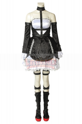 Cosplaylegend DEAD OR ALIVE6 Cosplay Marie Rose Costume Halloween Christmas Adult Women Custome Made Uniform Dress With Shoes