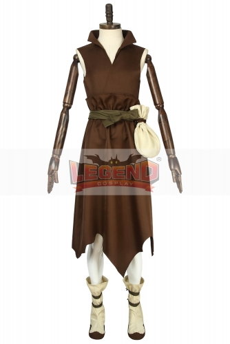 Cosplaylegend Custom Made Anime Dr. Stone Costume Taiju Oki Brown Outfit Costume Halloween Suit